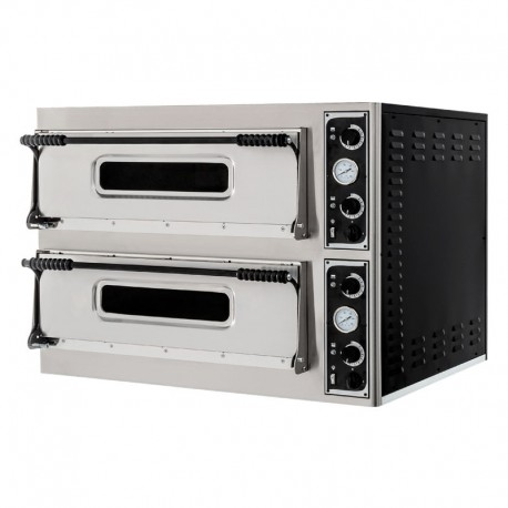 Cuptor pizza electric 4+4 pizza basic 44