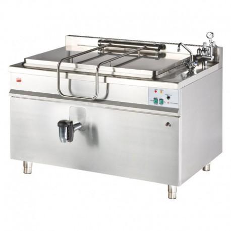 Marmita pe gaz incalzire indirecta 150 litri KG-150