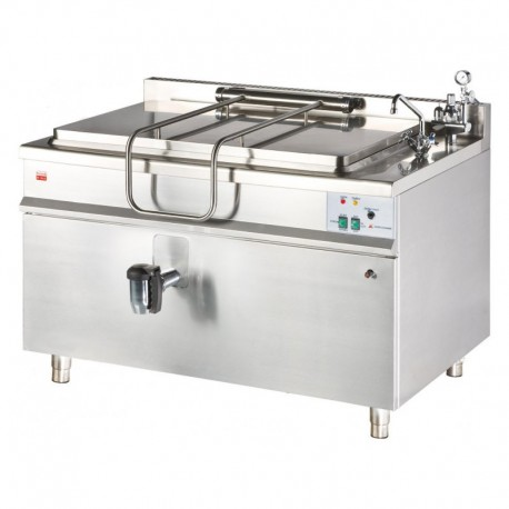 Marmita pe gaz incalzire indirecta 300 litri KG-300