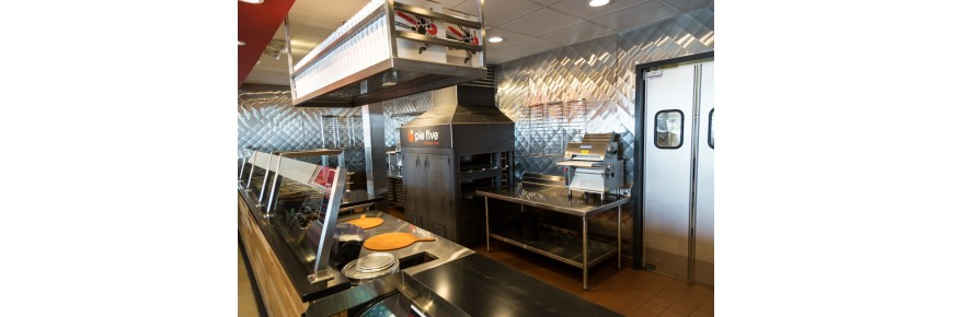 Echipament Pizzerie, Masa si Vitrina Rece, Malaxor Presa, Cuptor Pizza